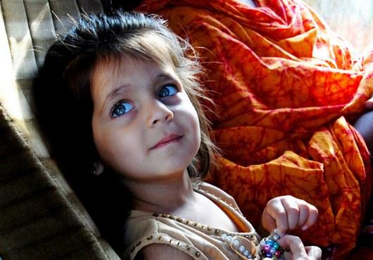 Ашвария Рай в детстве...
